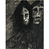 untitled (two faces) by rabindranath tagore