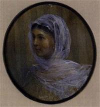 porträt der tochter des künstlers, sofia ivanova kramskoya by ivan nikolaevich kramskoy
