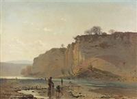 les falaises de champel au bord de l'arve by jacques dunant