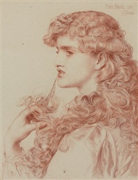 proud maisie by anthony frederick augustus sandys