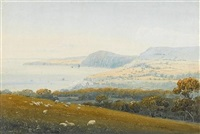 a view of sidmouth from the east by henry haseler