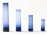 ensemble de quatre vases (set of 4) by per lutken