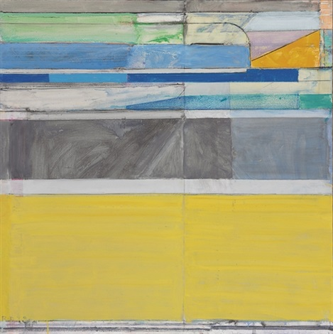 ocean park no117 by richard diebenkorn