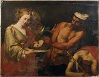 salomé recevant la tête de saint jean-baptiste by lionello spada