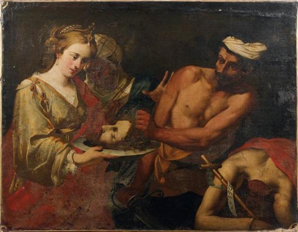 salomé recevant la tête de saint jean baptiste by lionello spada