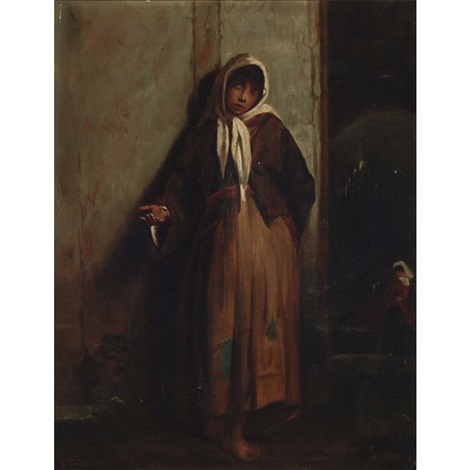 beggar woman by edwin lord weeks