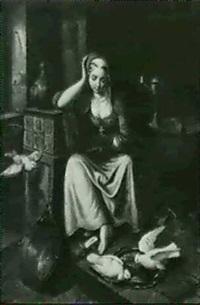 aschenbrodel (cinderella) by v. kretschmer