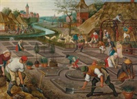 spring by pieter brueghel the younger