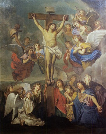la crucifixion by noël nicolas coypel