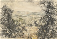 landscape of jerusalem by anna ticho