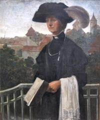 portræt af kvinde by jorgen storck