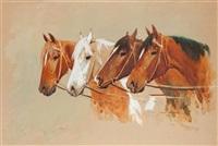 głowy końskie by julius holzmüller