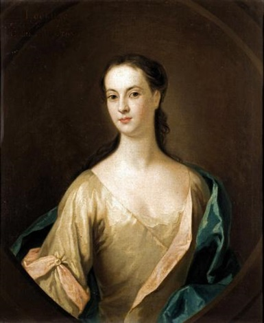 portrait of eupheme lockhart 3rd wife of john 6th earl of wigton by william aikman