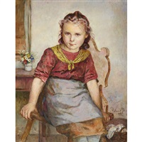 little girl by edmund adler