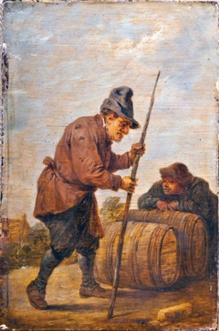 les tonneliers by david teniers the elder