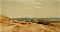 view of haarlem(?) from the dunes by johannes gysbert vogel the younger