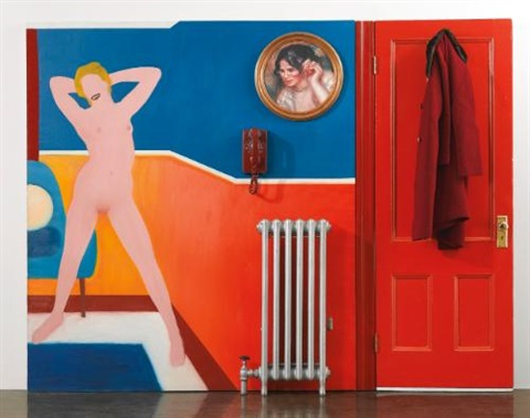 great american nude 44 by tom wesselmann