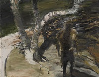 tree and figure, mosman by euan macleod