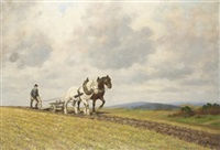 ploughing the fields by a. hofmann