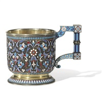tea glass holder by nikolai alekseev