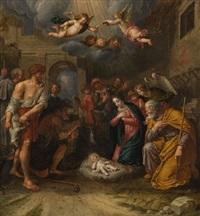 anbetung der hirten by peter van lint