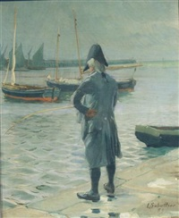 french fisherman by louis rémy sabattier