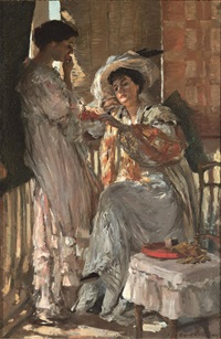cherries by rupert bunny