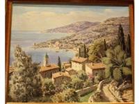 bord de côte en méditerranée by lucien potronat