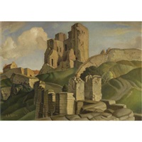 scarborough castle by harry epworth allen