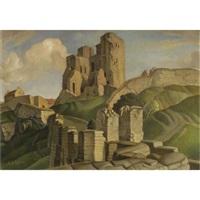 scarborough castle by harry epworth allen