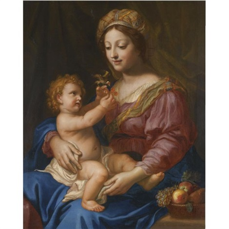 the madonna and child by michel corneille the younger