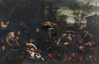 les forges de vulcain by francesco bassano the younger
