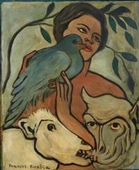 le pigeon bleu by francis picabia