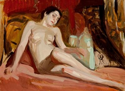desnudo estudio by joaquin sorolla y bastida