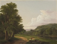 landscape, albany by james mcdougal
