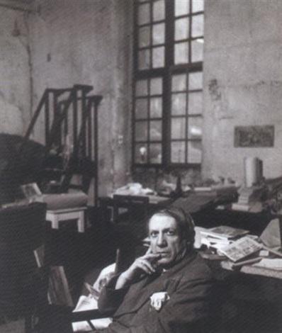 picasso dans son atelier rue des grands augustins by peter rose pulham