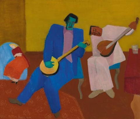 music makers by milton avery