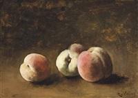 peaches by antoine vollon