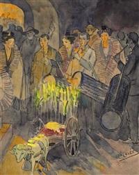 messe de minuit dans les baux de provence by léo lelee