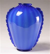 velato vase by zecchin martinuzzi