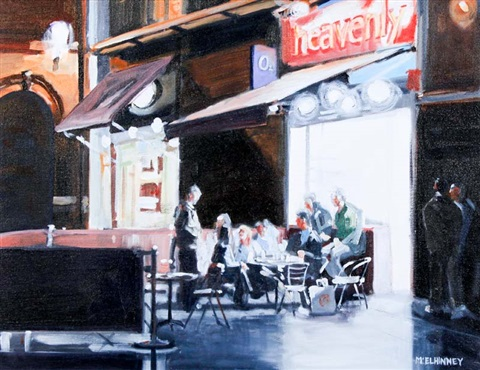 evening in temple bar by david mcelhinney
