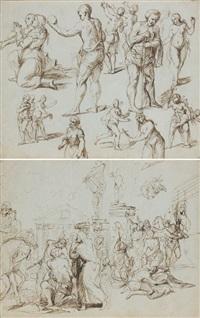 scènes de martyrs (+ scènes de martyrs, verso) by alexander coosemans