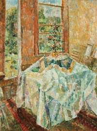 christmas tree by grace cossington smith
