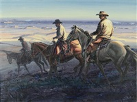 sundown riders by larry zabel