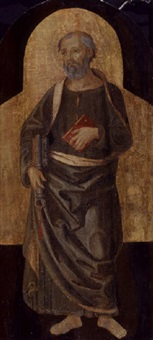 saint peter by romano antoniazzo