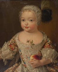 portrait d'enfant by pierre gobert