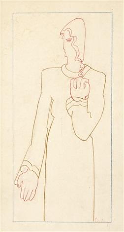 female figure by joseph csaky