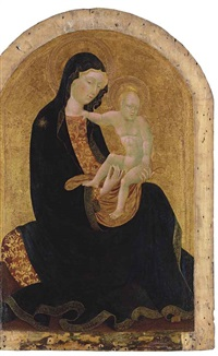 the madonna of humility by giovanni di paolo
