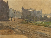 street in holland by maximilien (max) clarenbach
