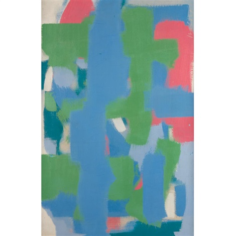 untitled (blue green) by carl robert holty